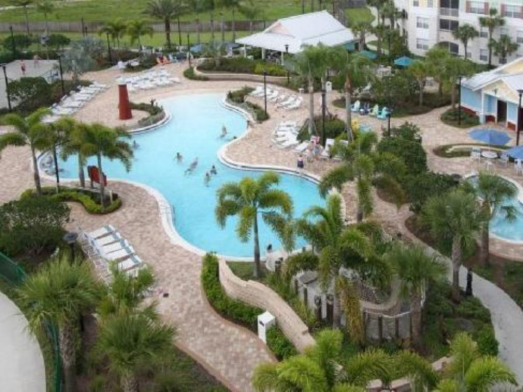 Schwimmbad Country Inn & Suites Orlando Maingate At Calypso Cay
