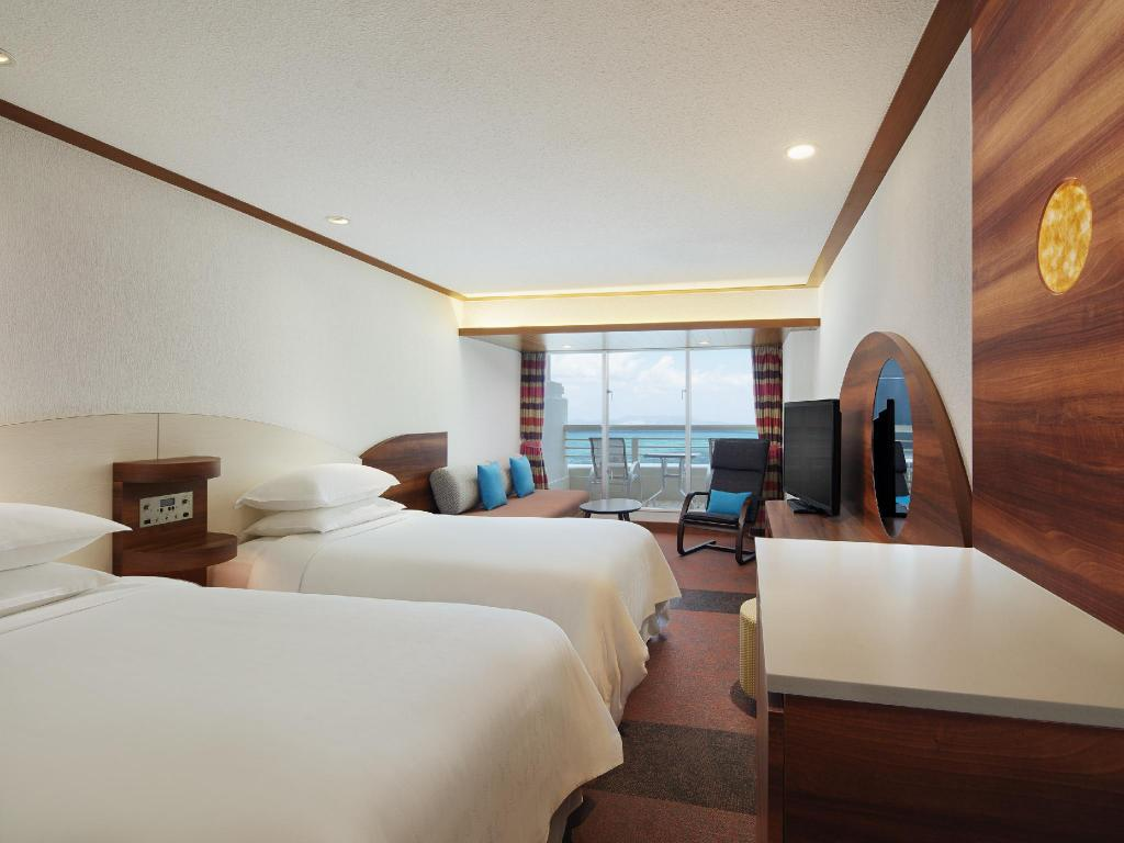 High Floor Deluxe Ocean View Room - Non-Smoking - 房間格局