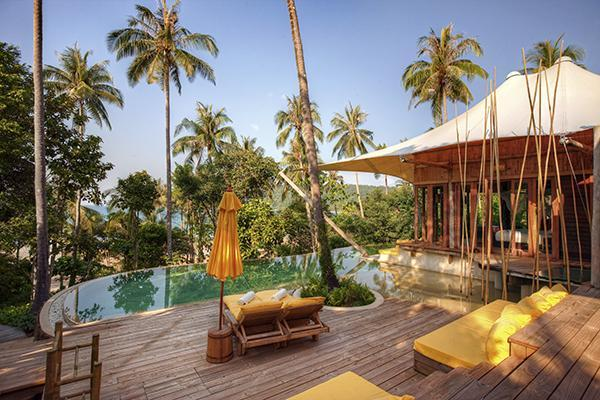 Beach Pool Villa with King Bed