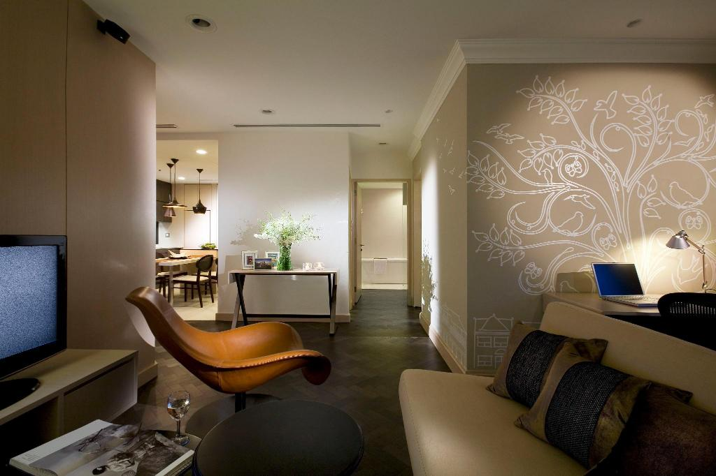 Interior view Fraser Suites Singapore