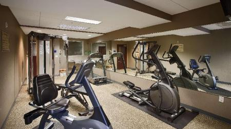Fitness center Best Western Plus Fort Lauderdale Airport South Inn and Suites
