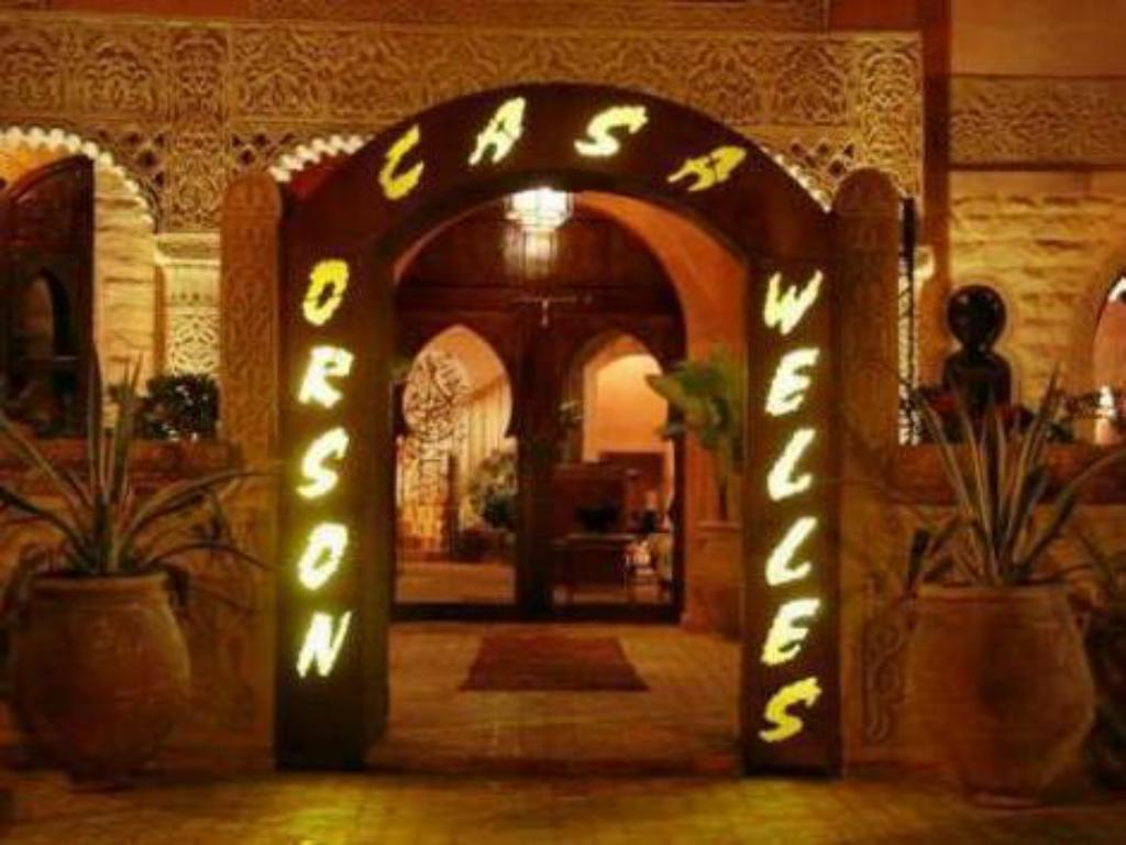 Entrance Hotel Orson Welles