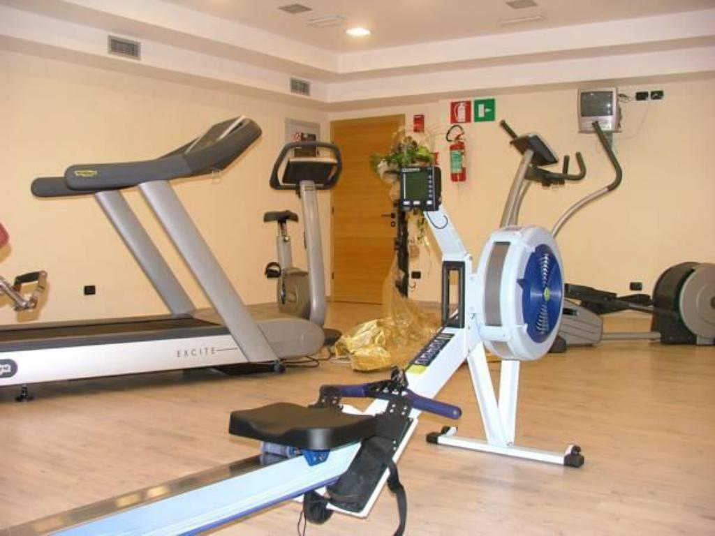 fitness centrum Hotel Touring