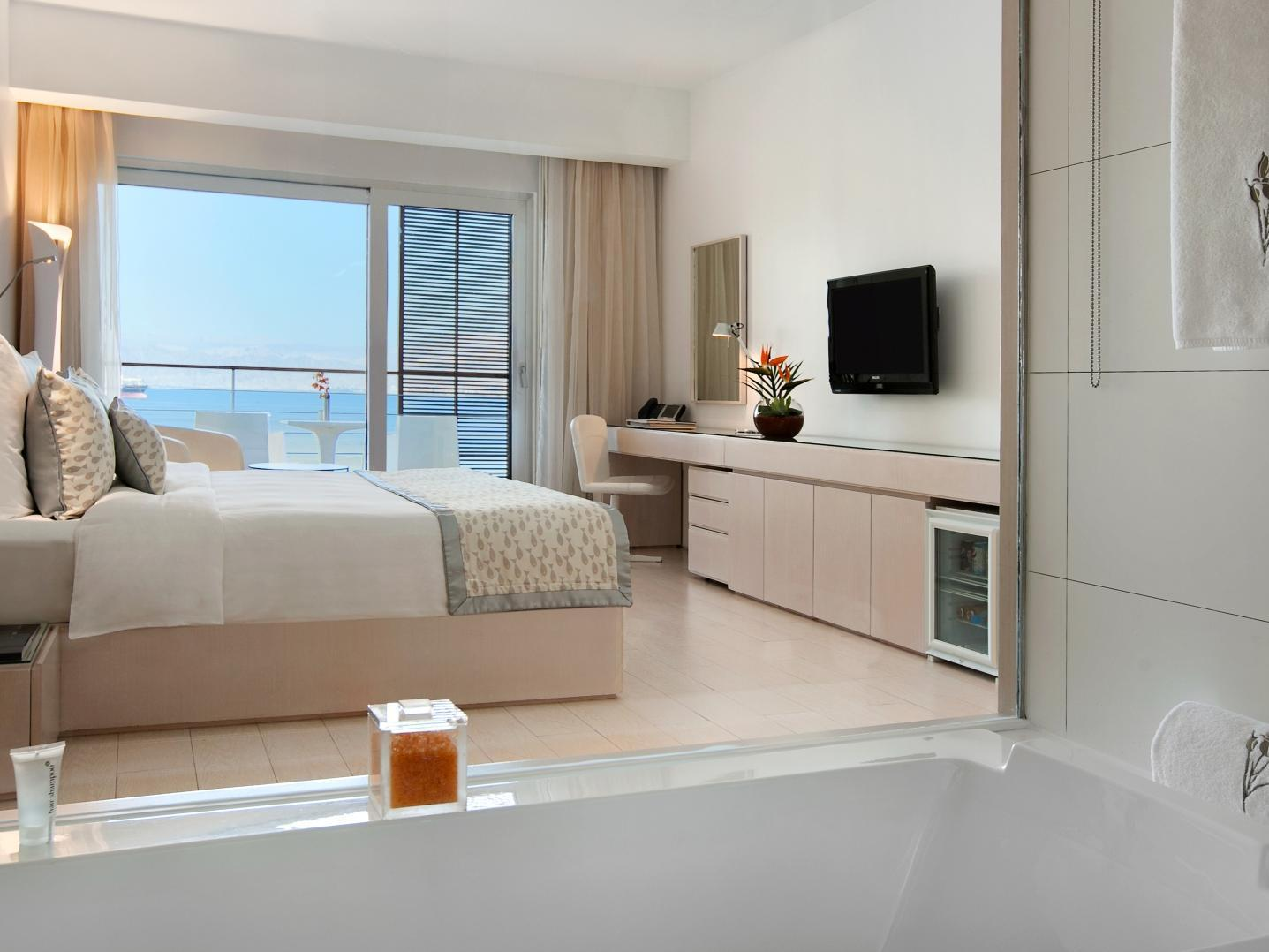 Quarto Duplo Deluxe com vista para o mar (Deluxe Double Room with Sea View)