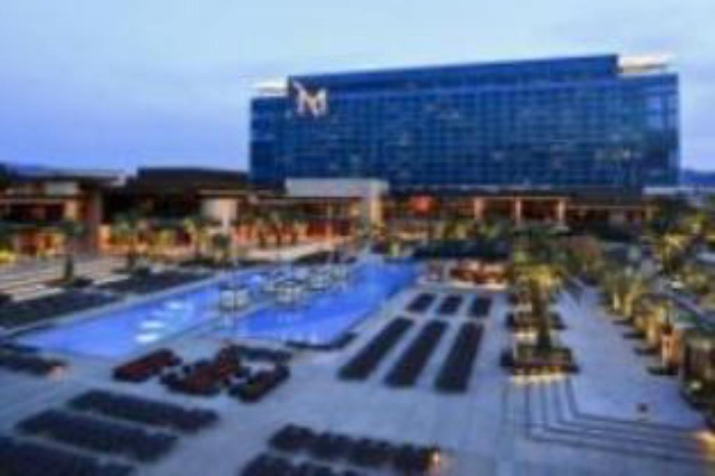M Resort Spa Casino logo