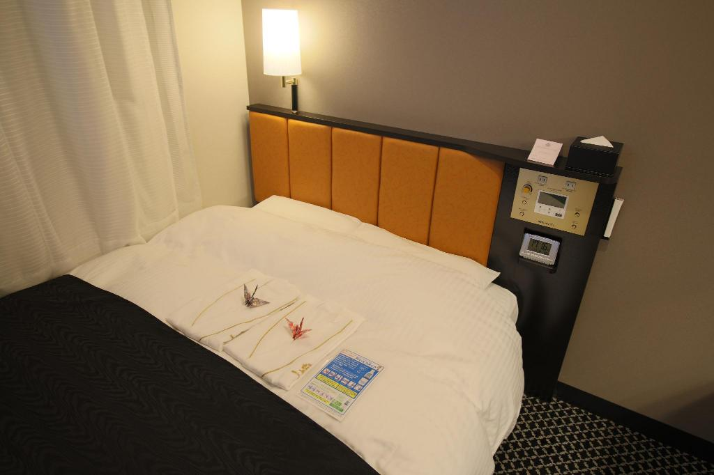 Single Room Smoking - Bed APA Hotel TKP Nippori Ekimae
