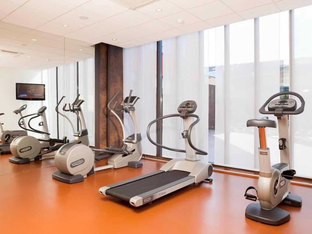 Fitness center Novotel Suites Reims Centre