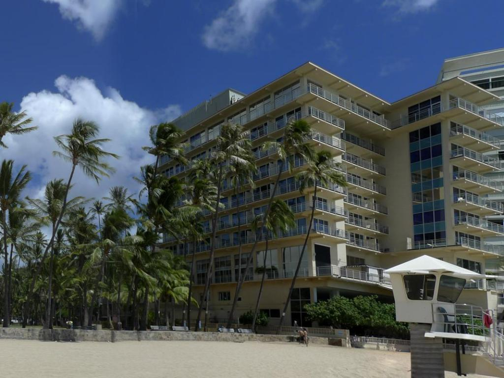 Exterior view The New Otani Kaimana Beach Hotel