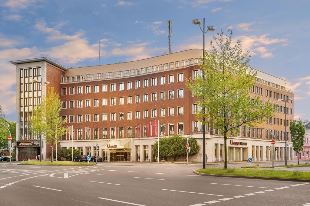 novum hotel unique dortmund hauptbahnhof in germany room