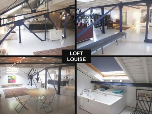 One-bedroom apartment Loft Louise 1 (4 people)