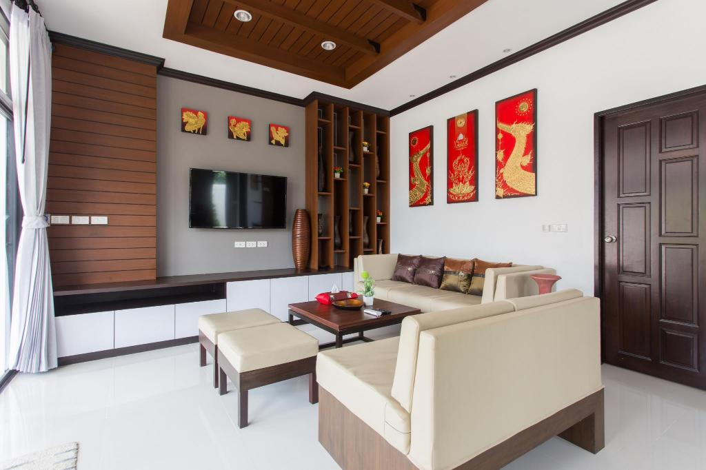 Lobby The Best Aonang Villas