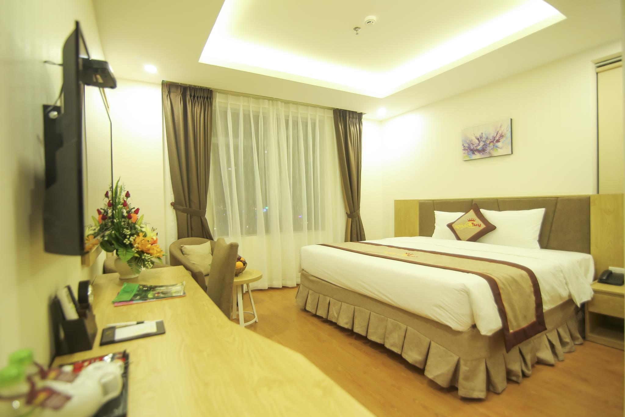 Deluxe Double dengan Pemandangan Laut (Deluxe Double Sea View)