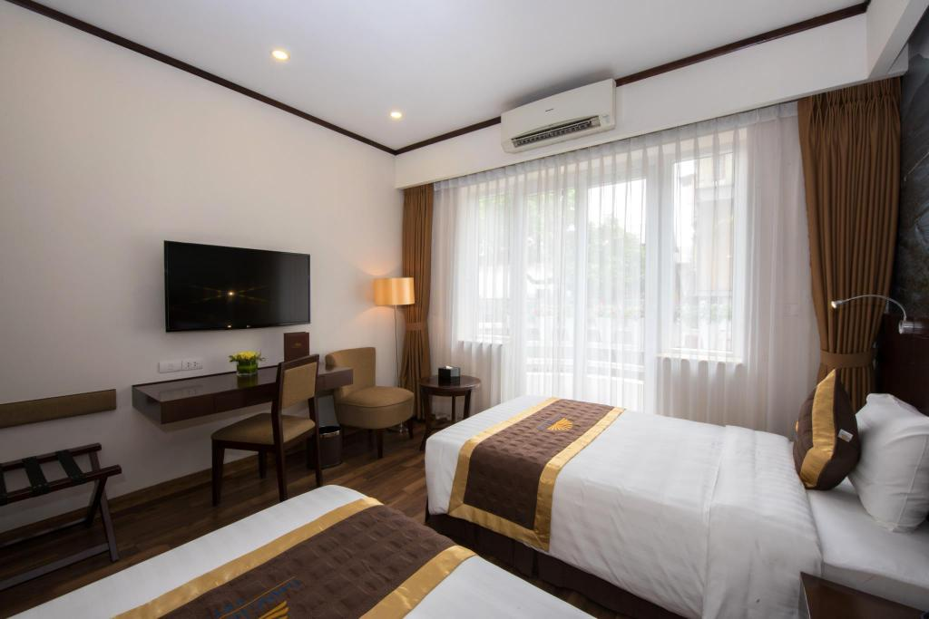 Superior Double or Twin - Room plan Thang Long Opera Hotel Hanoi