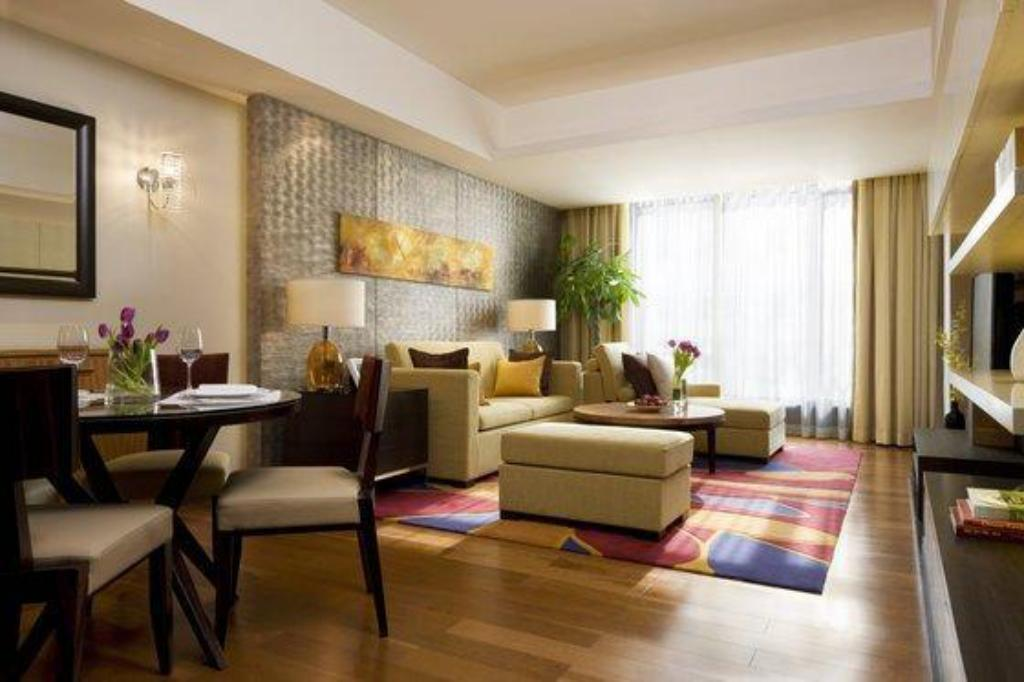 1 Bedroom Apartment, 1 King The Sandalwood, Beijing - Marriott Executive Apartments