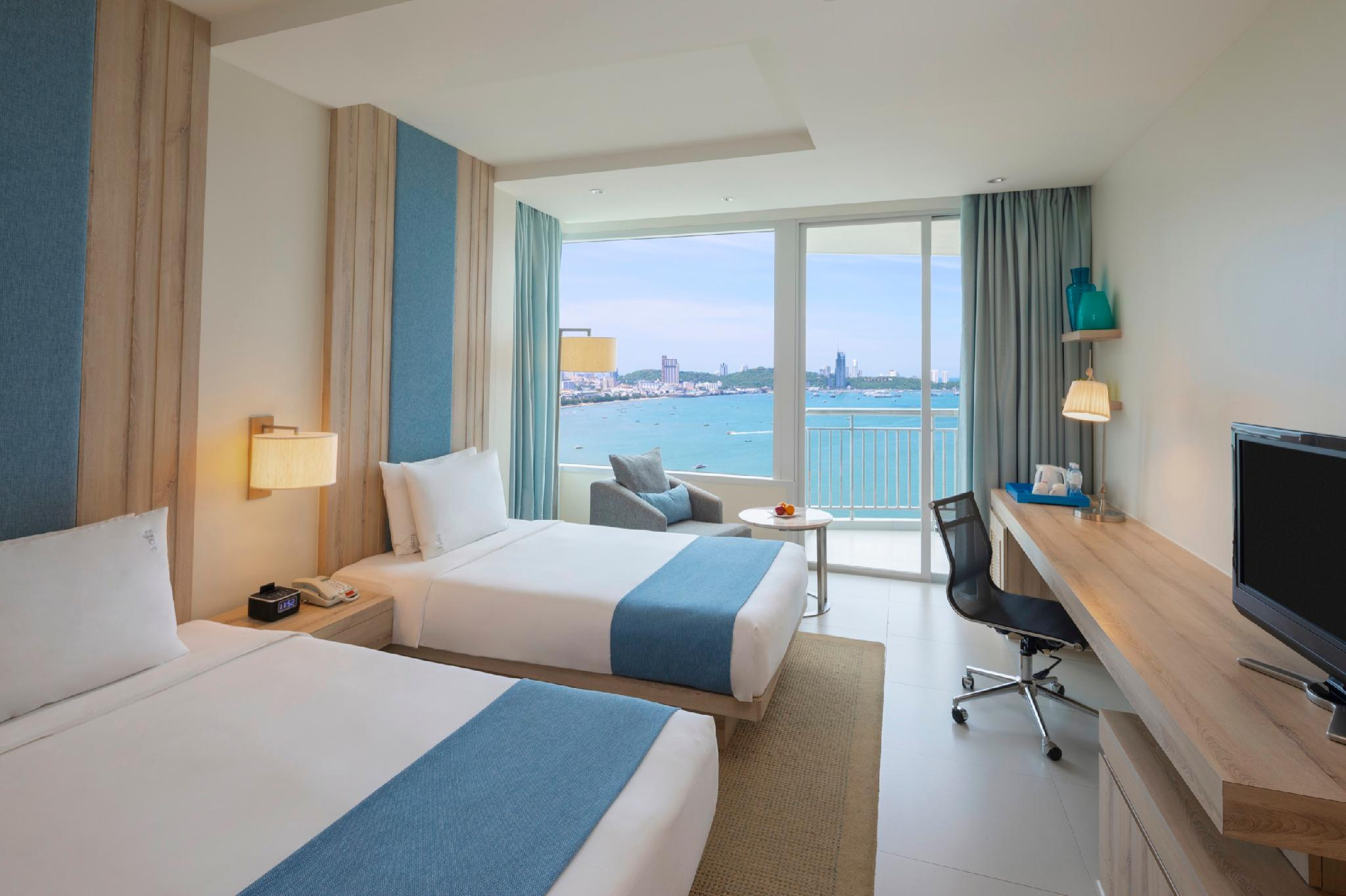 Ocean View Room with 2 Single Beds - Non-Smoking (2 Single Beds Ocean View Non-Smoking)