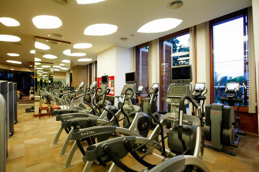 gym Centara Grand Mirage Beach Resort