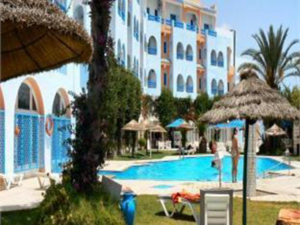 Schwimmbad Le Khalife Hotel