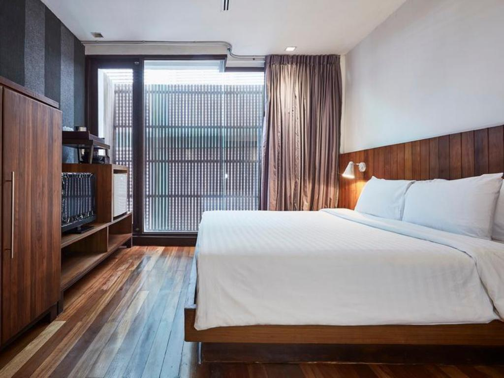 Standard - Room plan Luxx at Silom Hotel