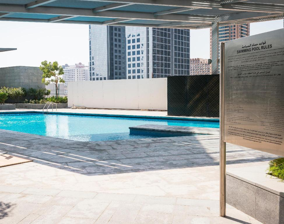 Swimming pool [outdoor] Dream Inn - CentralPark Tower 2BR Duplex Apartment