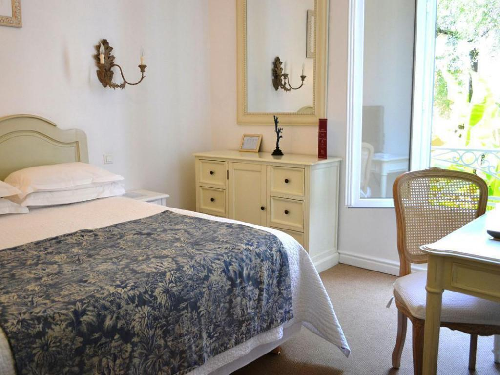 Standard Rear-View Double Room - Bed Hotel Les Mouettes
