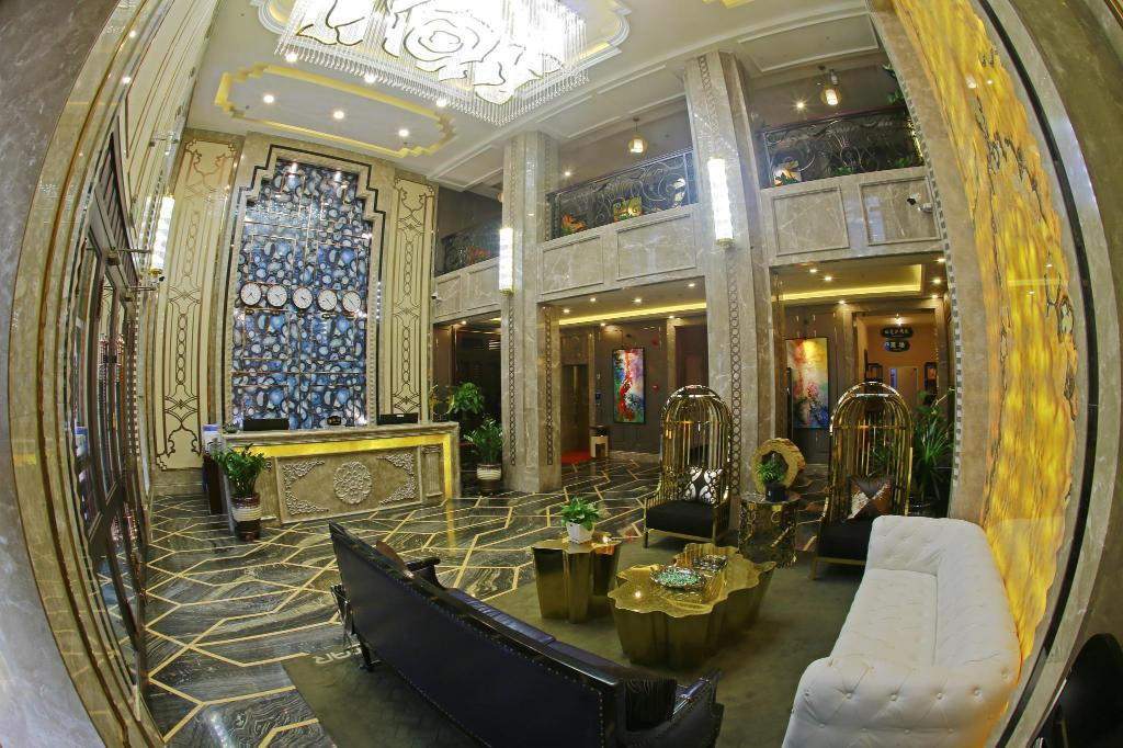Lobby Harbin Petrochemical Engineering Hotel