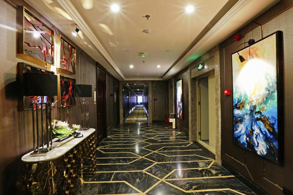 Interior view Harbin Petrochemical Engineering Hotel