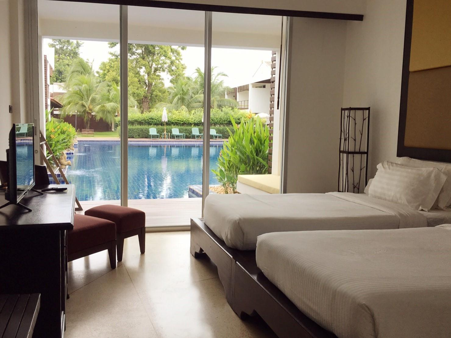 Pool Zugang Doppelzimmer (Pool Access Twin Room)