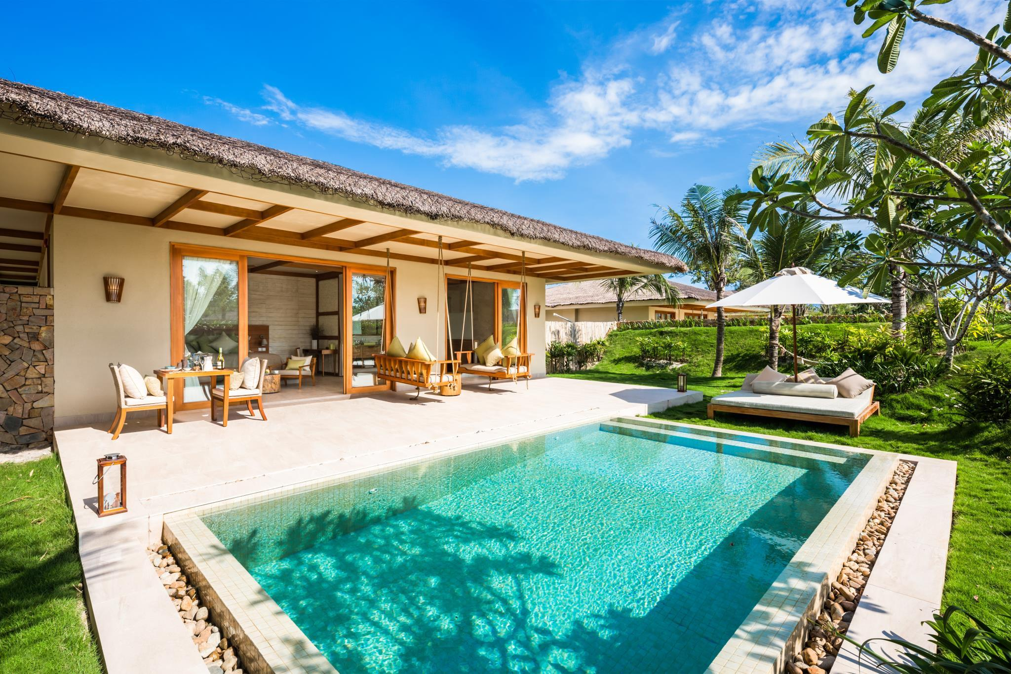 1-Bedroom Villa with Pool - All Spa treatment included