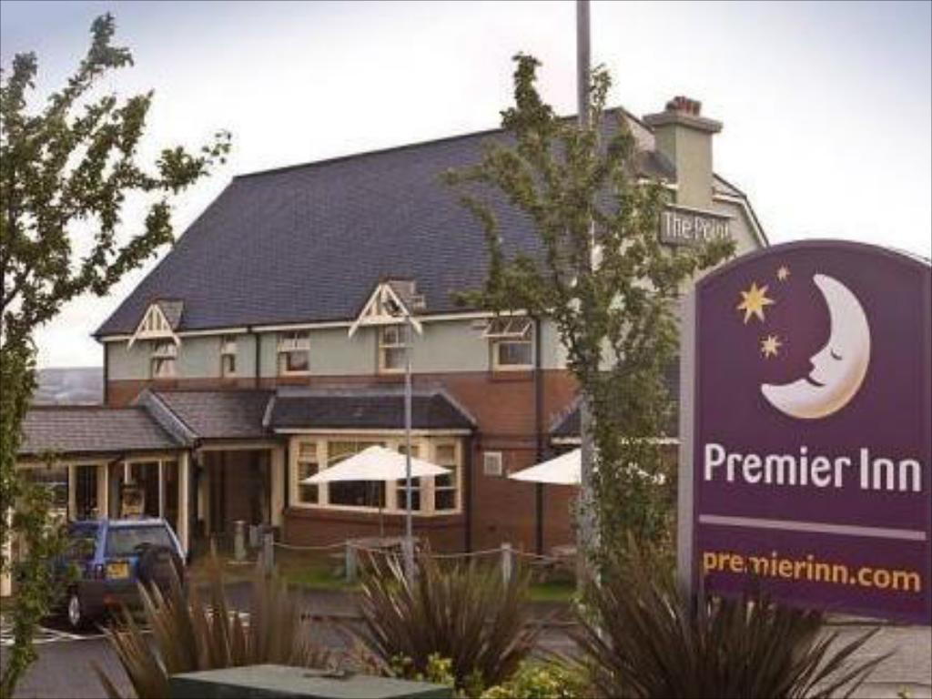Exterior view Premier Inn Greenock