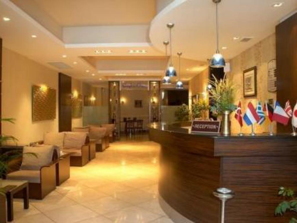 Reception Izmir Comfort Boutique Hotel
