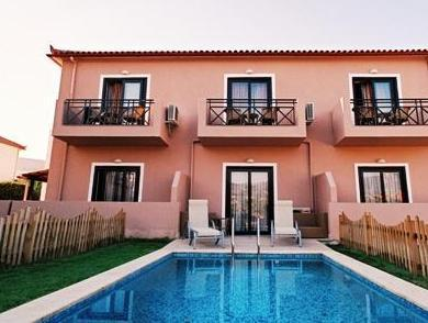 Pusiau liukso numeris su atskiru baseinu (Junior Suite with Private Pool)