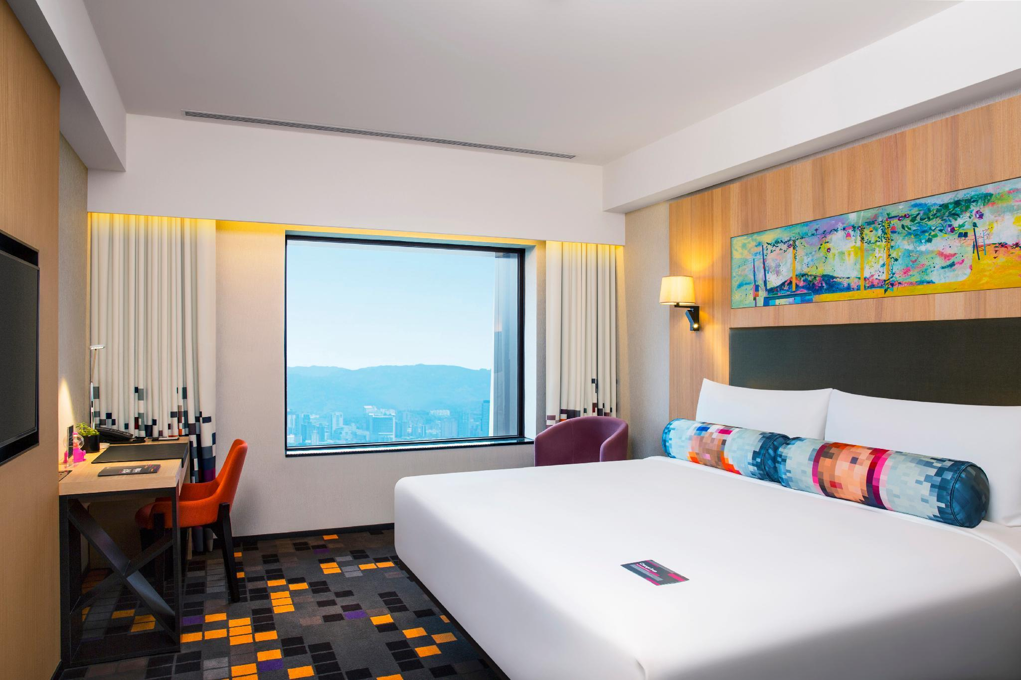Aloft, Guest room, 1 King, City view