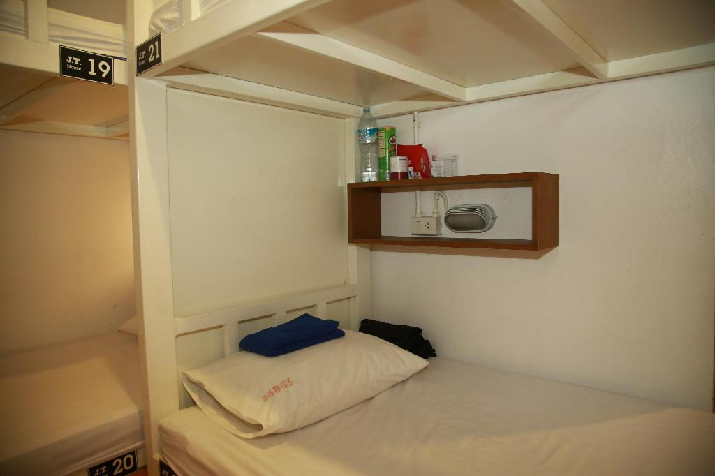 1 Person in 4-Bed Dormitory - Mixed - Bed