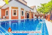 Pool villa garden 4 bedrooms near walking street