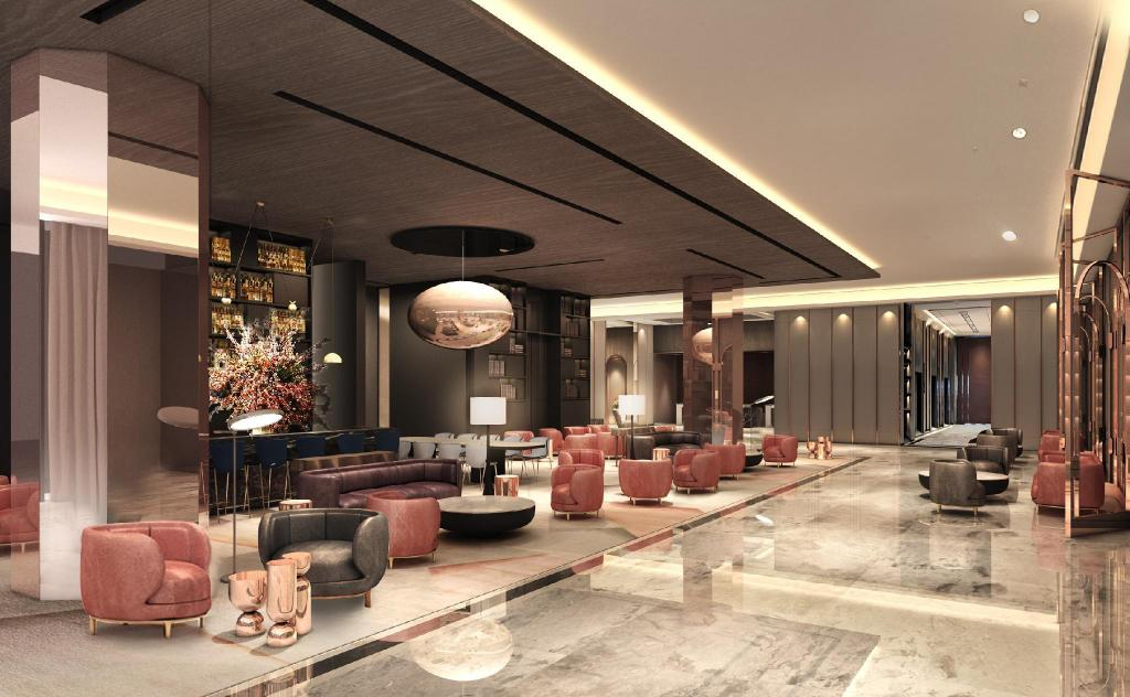 Lobby Sofitel Singapore City Centre (SG Clean Certified)