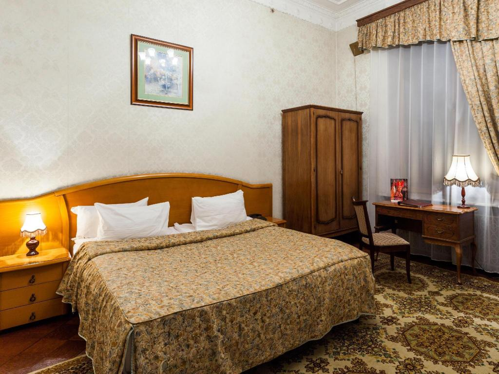 Standard Room with Twin or Double Bed - Bed Historical Hotel Sovietsky Hotel