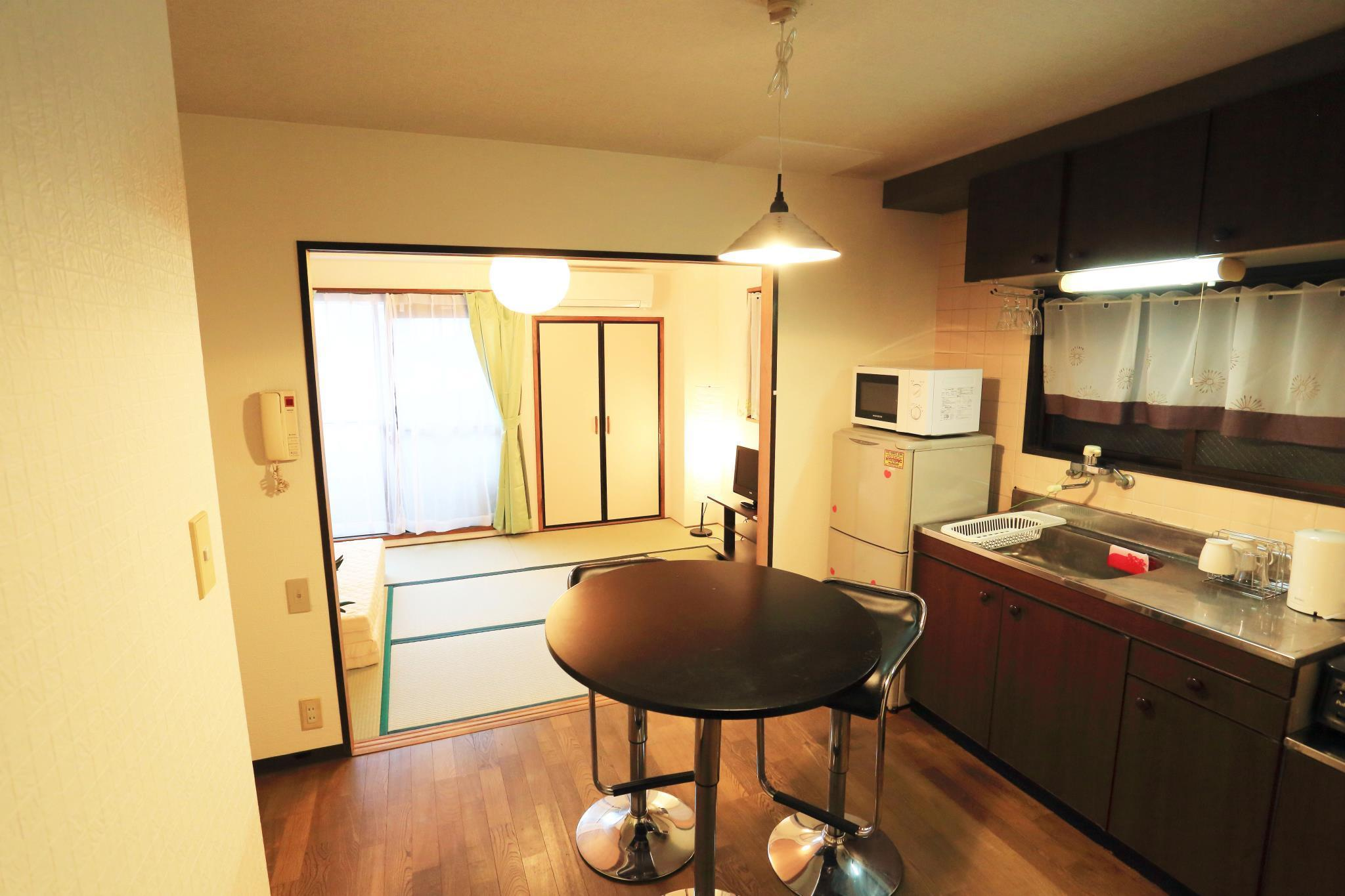 Cozy Japanese Style Private Apartment Tennoji Osaka