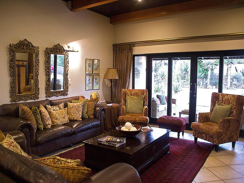 Hotellet indefra Swartberg Private Game Lodge