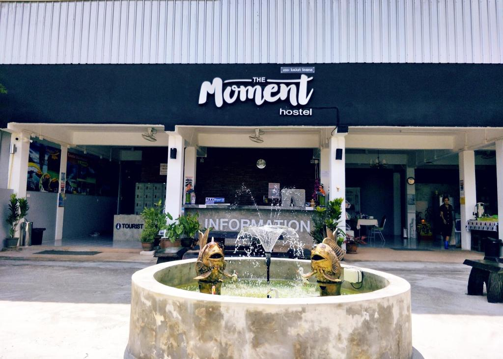 The moment hostel