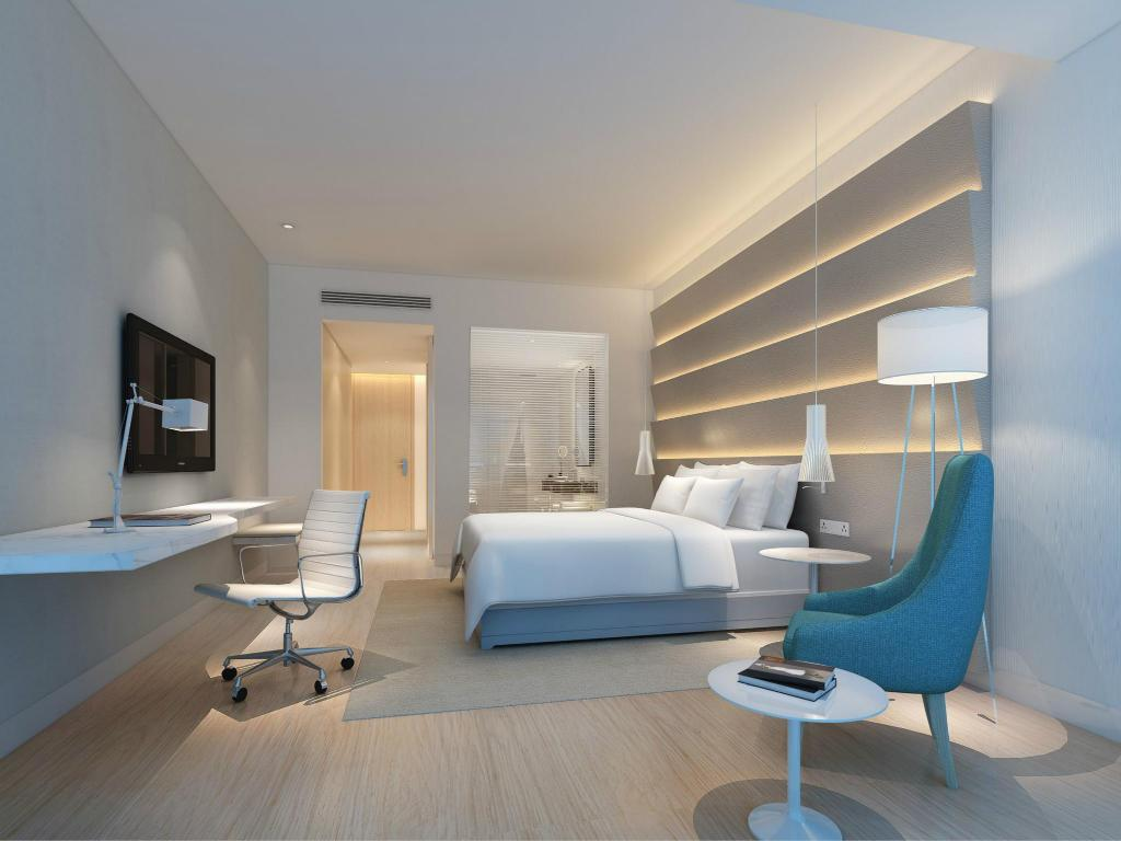 Superior King Room - Room plan HaiKou MeiLan Airport Hotel