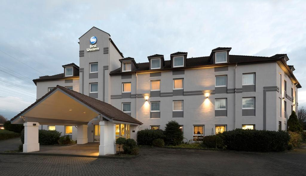 Exterior view Best Western Hotel Cologne Airport Troisdorf