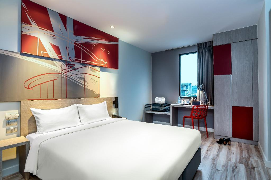 Standard Room with 1 Queen Bed - View ibis Bangkok IMPACT
