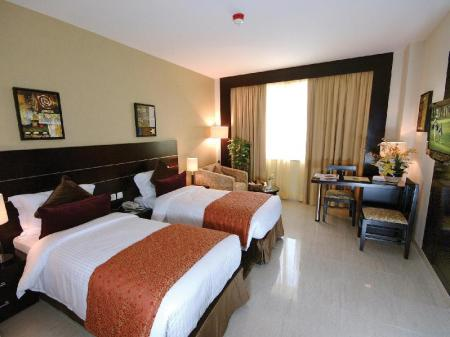 Standard Double or Twin - Room plan Landmark Riqqa Hotel