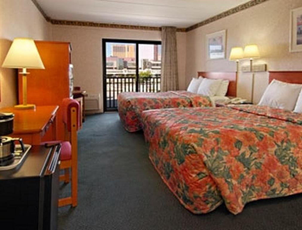 Kamar tidur Days Inn by Wyndham Atlantic City Beachblock