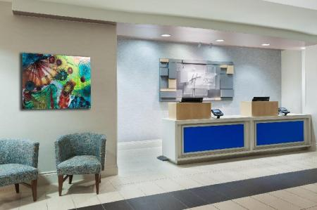 Lobby Holiday Inn Express Hotel & Suites Ft. Lauderdale-Plantation