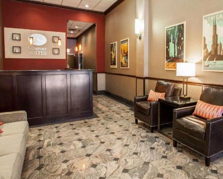 Lobby Comfort Suites Michigan Avenue - Loop