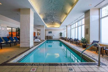 Swimming pool Embassy Suites Chicago Downtown Magnificent Mile
