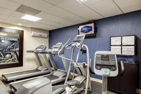 Fitness center Hampton Inn Chicago-O'Hare Intl Airport