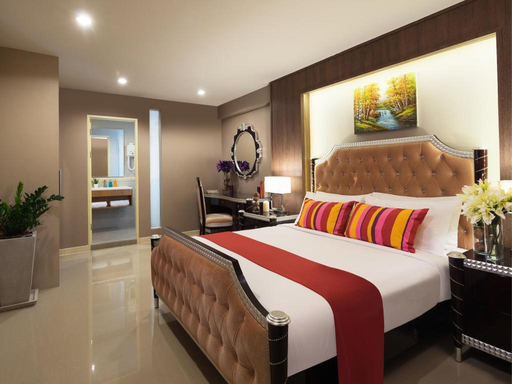 Premier Superior - Room plan Ton Aor Place Hotel Ratchada
