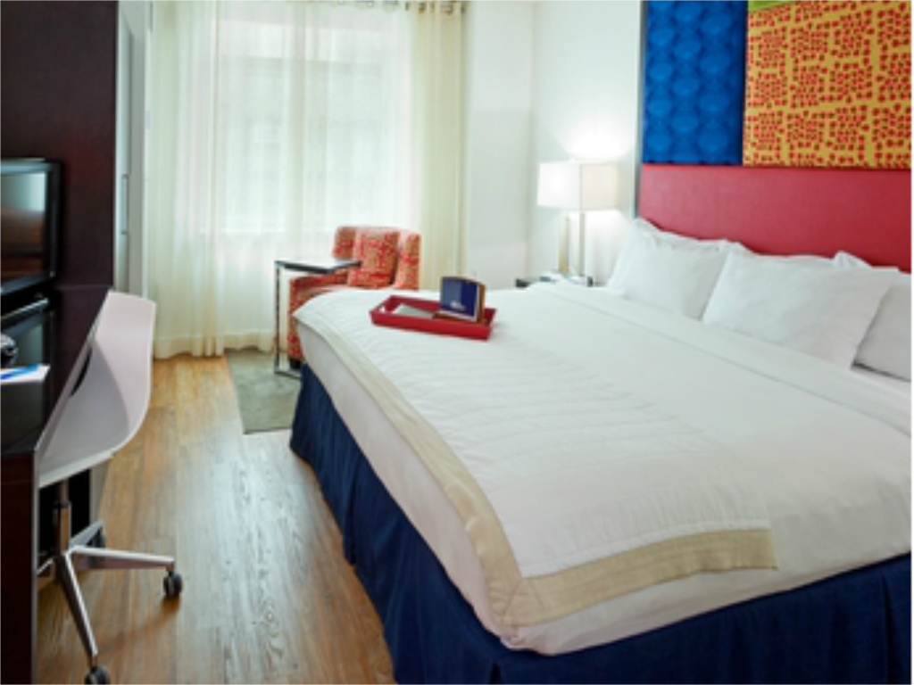 Standard Accessible King Bed Hotel Indigo - Chelsea